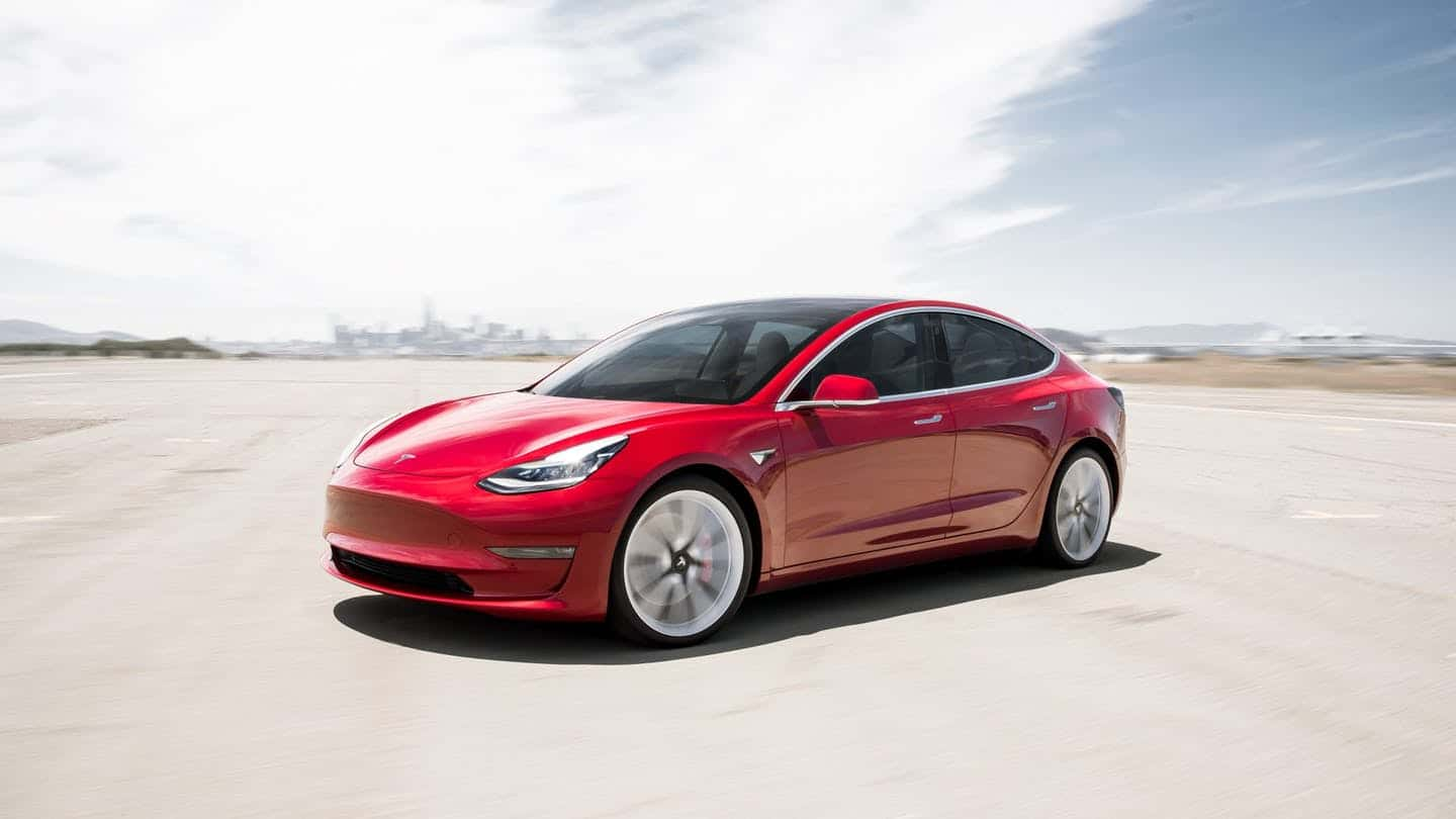 Tesla Model 3 available for booking in China, priced at 355,800 Yuan