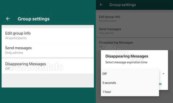 WhatsApp to develop feature for ephemeral messages (self-destructing)