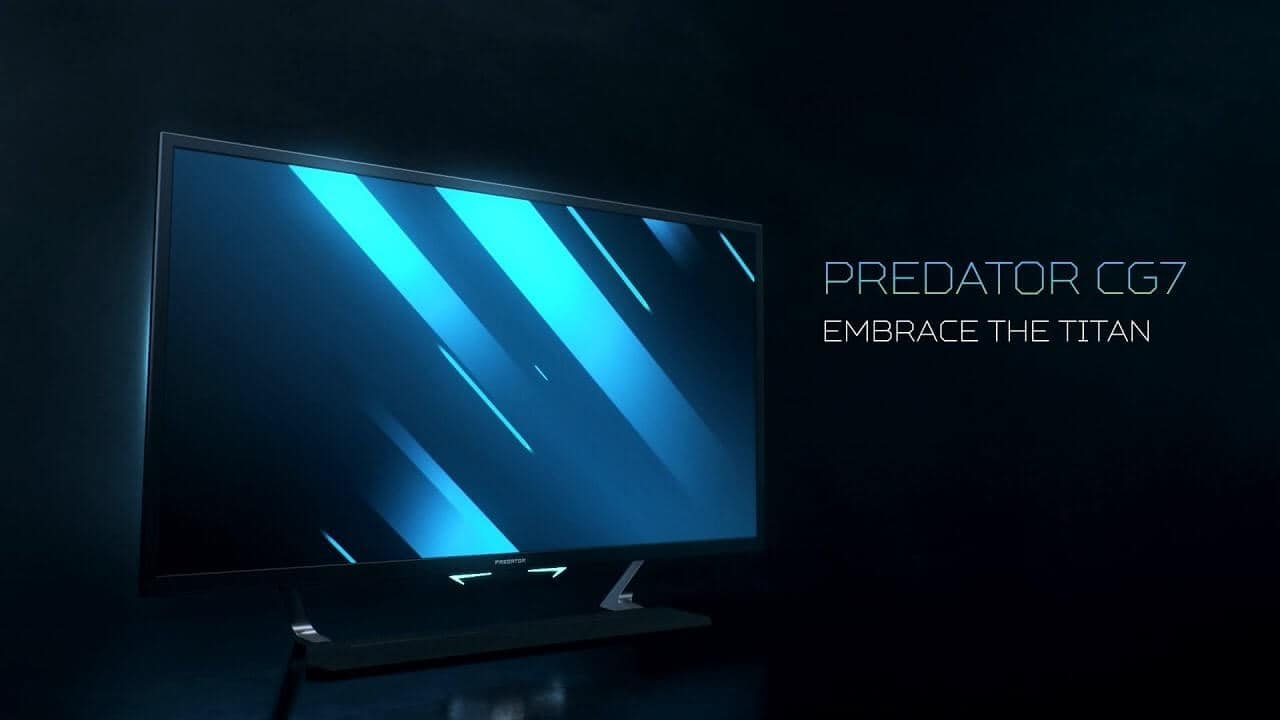 Acer Predator 43″ Gaming Display offers 4K, 144 Hz refresh rate