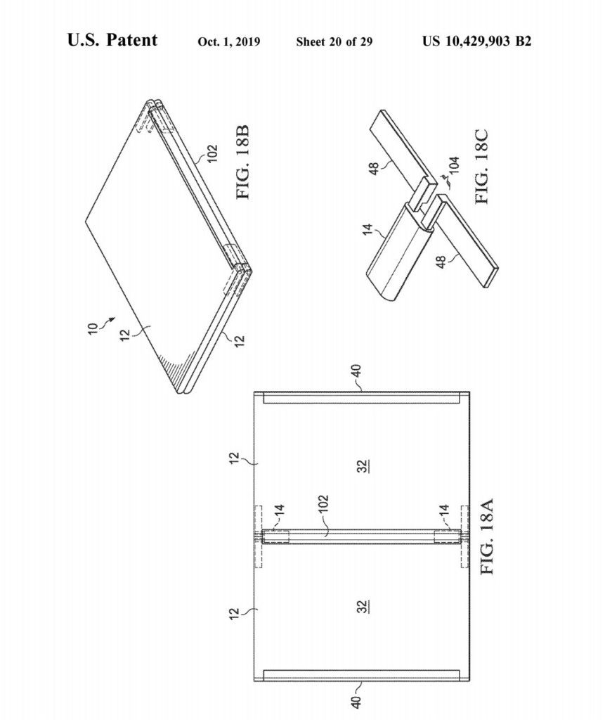 Detailed patent of a Dell Foldable PC surfaces online