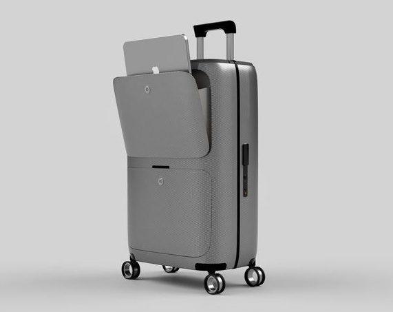 SkyTrek Smart Luggage bag with FaceID lock, arrives at Kickstarter