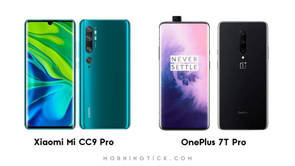 Xiaomi Mi CC9 Pro Vs OnePlus 7T Pro: Specs Comparison