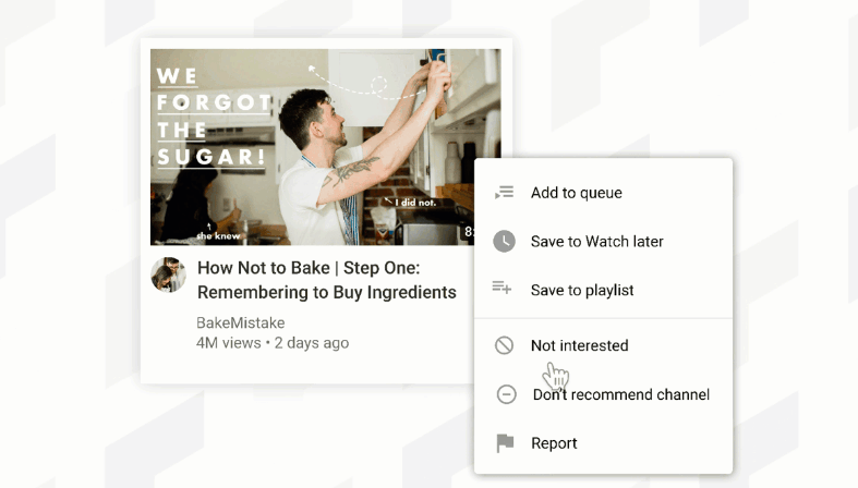 YouTube gets a design update, allow users to manage recommendations