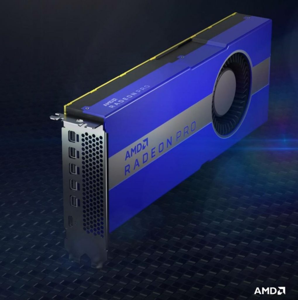 AMD launches Pro W5700X graphics card for Apple Mac Pro