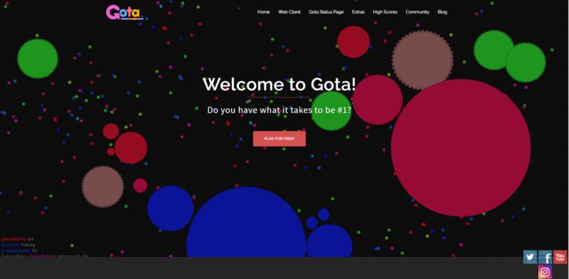 Gota.io - Agar.io Alternatives