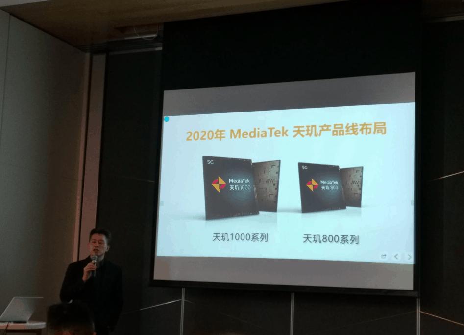 MediaTek Dimensity 800 chipset announced