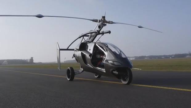 PAL-V: The world's first flying car debuts in Miami