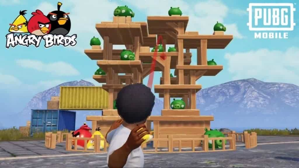 PUBG Mobile releases New Mini-Game for the Angry Birds' 10th Anniversary