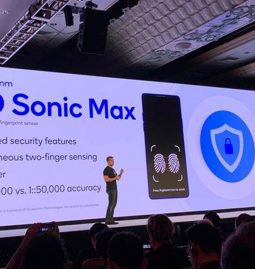 Qualcomm announces 3D Sonic Max fingerprint sensor