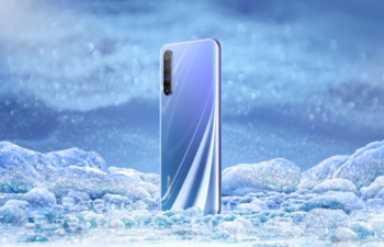 Realme X50 5G showcased in Polar gradient in official renders