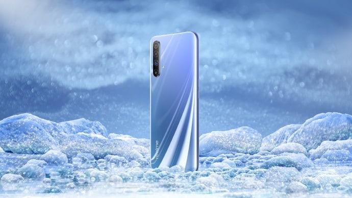 Realme X50 5G showcased in Polar gradient in official renders