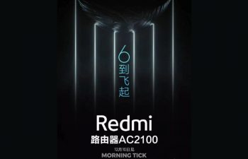 Redmi AC2100 router set to launch on 10th December