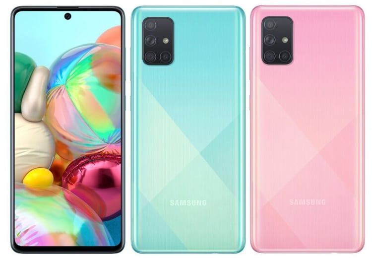 Samsung Galaxy A71 officially arrives with Super AMOLED Infinity-O display