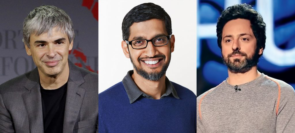Sundar Pichai becomes CEO of Alphabet and Google