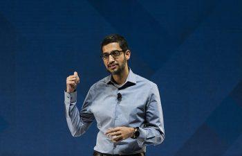 Sundar Pichai becomes CEO of Alphabet and Google