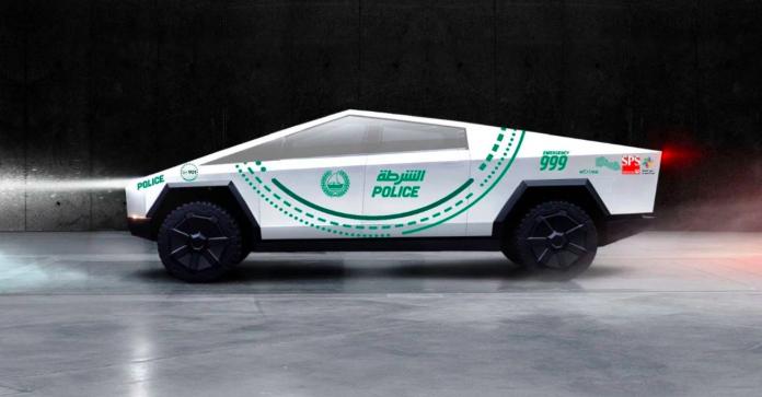 Tesla Cybertruck will join Dubai Police Force by 2020