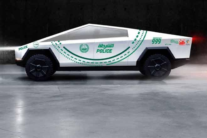 Tesla Cybertruck will join Dubai Police Force by 2020