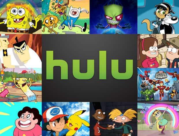 Hulu - Best Cartoons Streaming Sites