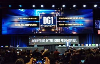 Intel showcased DG1 GPU at CES 2020 event
