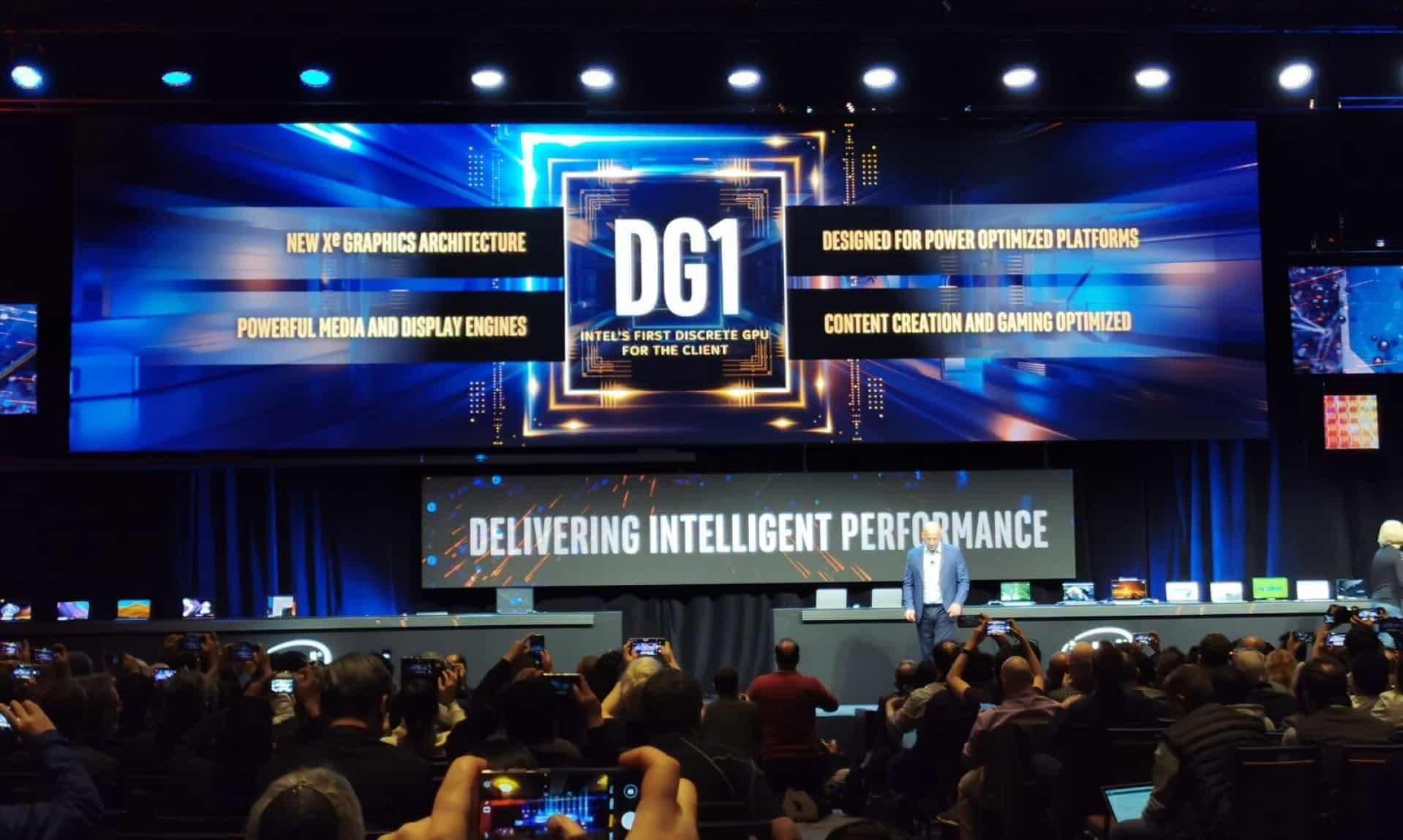 Intel showcased DG1 GPU at CES 2020 event