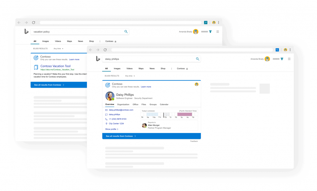 Microsoft Search integrates acronym feature