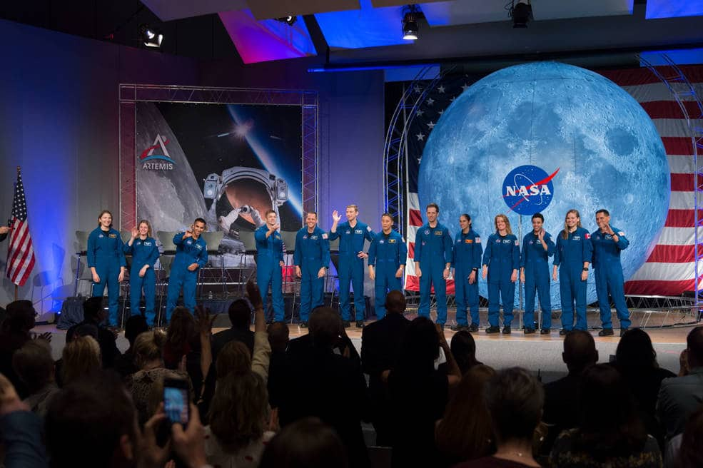 NASA hosts the first Astronaut graduation ceremony