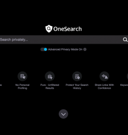 OneSearch search engine launched by Verizon in the US