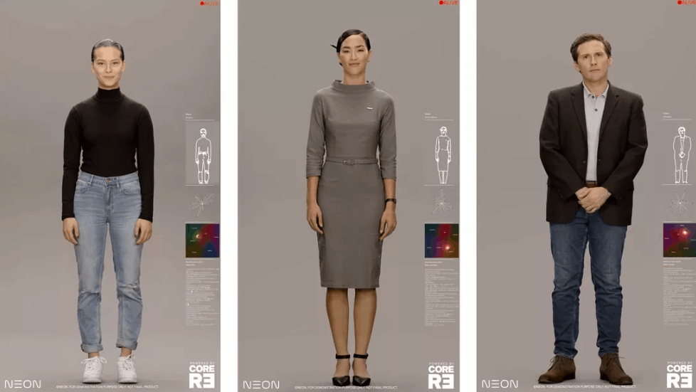 Samsung unveils NEON Project, new humanoid chatbots at CES 2020