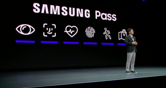Samsung's designers steal Apple's Face ID icon at CES 2020 Keynote