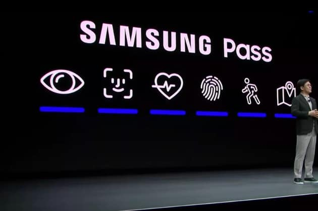 Samsung's designers steals Apple's Face ID icon at CES 2020 Keynote