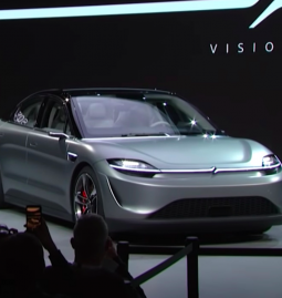 """Sony unveils an electric car prototype """"Vision-S"""" at CES 2020"""