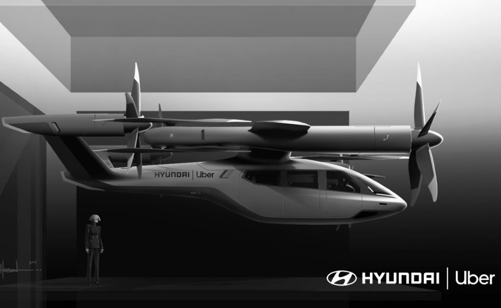 Uber partnered with Hyundai to develop Electric Air Taxi