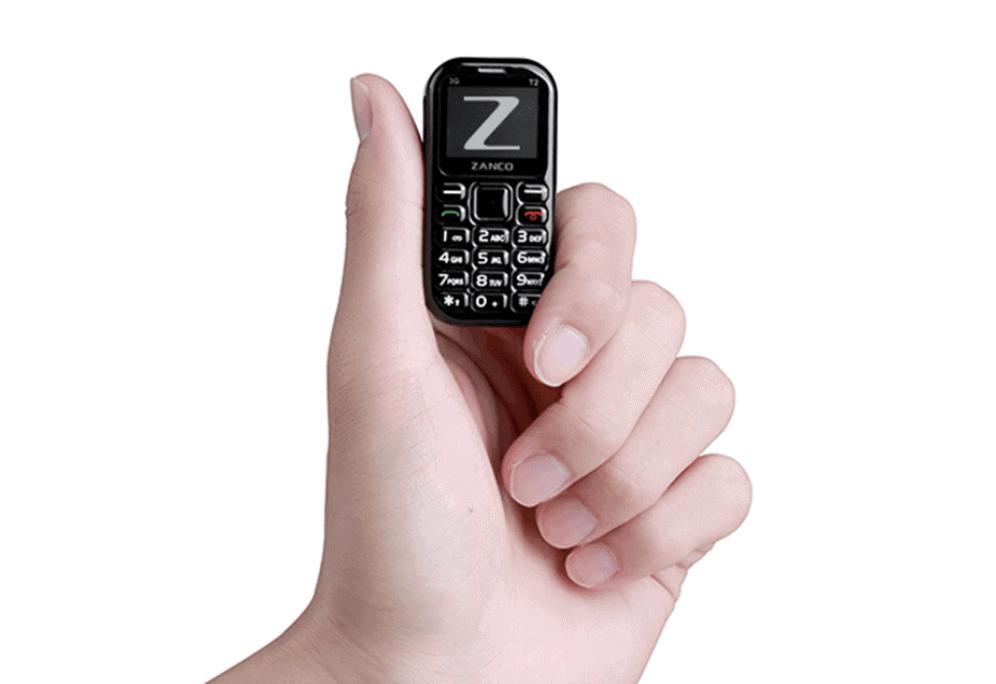 Zanco Tiny T2, world's smallest 3G smartphone arrived on Kickstarter