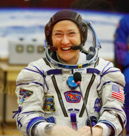 Christina Koch returns to Earth after spending record time in Space
