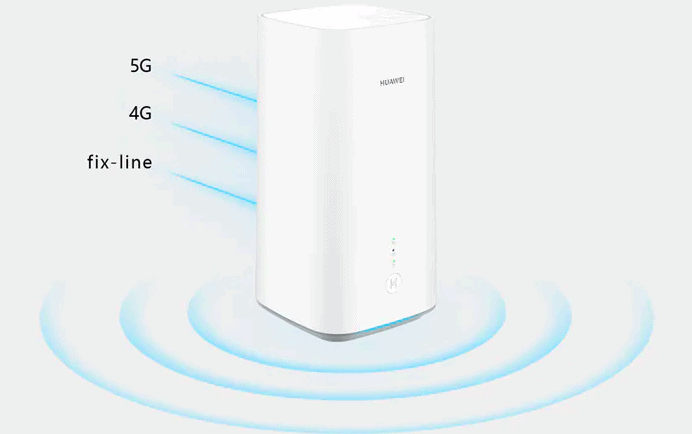 Huawei 5G CPE Pro 2 router with WiFi 6+ technology
