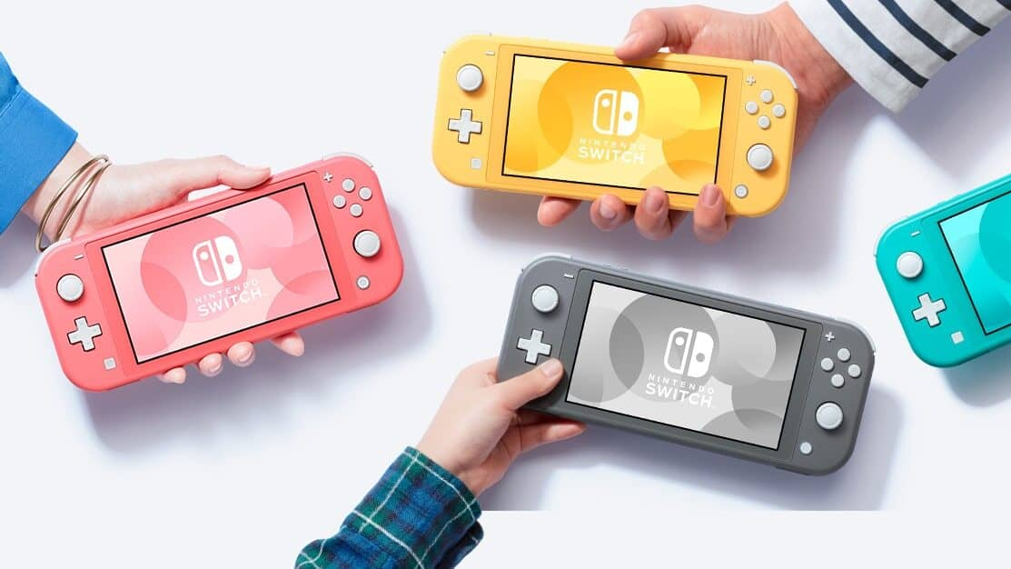 Nintendo Switch Lite Coral available for pre booking from 7th March onwards