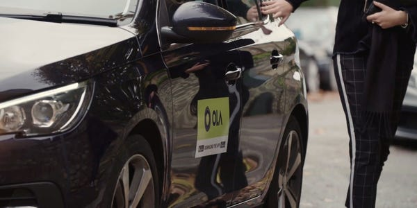 Ola launches their operations in London with more than 25000 drivers