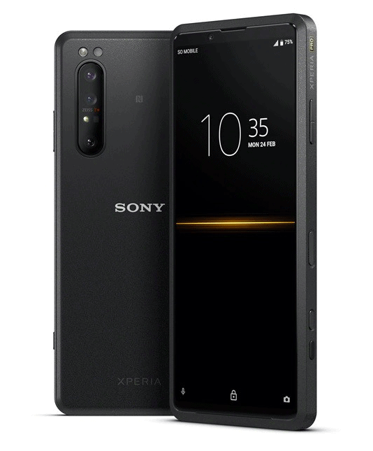 Sony Xperia Pro announced with Snapdragon 865 chipset