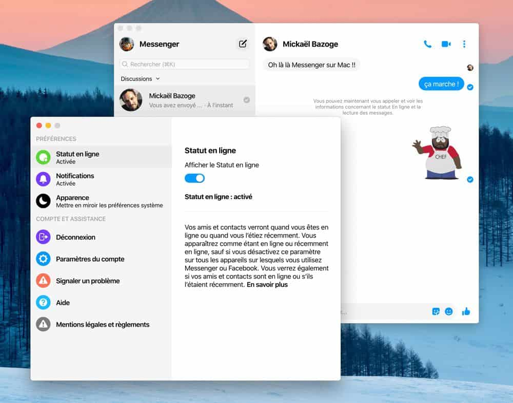 Facebook tests Messenger App for macOS before the global launch