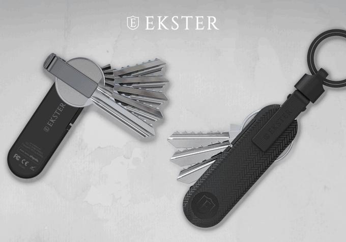 Ekster starts Ekster Key Holder campaign in Kickstarter