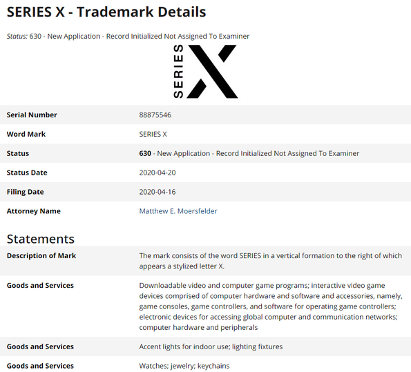 Microsoft officially trademarks a new Xbox Series X logo