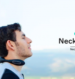 NeckAir is raising funds for its Portable Neck Muscle Massager and Warmer