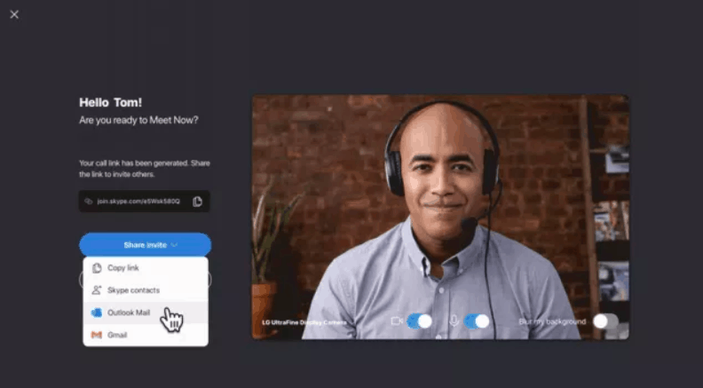 Skype introduced easy video calls without sign-up and downloading apps