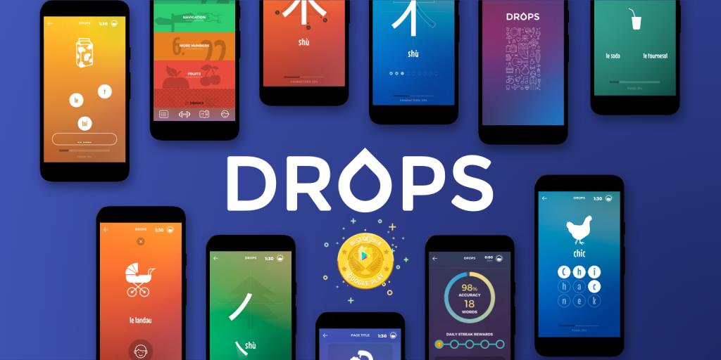 Drops - Duolingo Alternatives