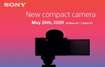 Sony Alpha ZV-1 surfaced with flip screen - Vlog optimized