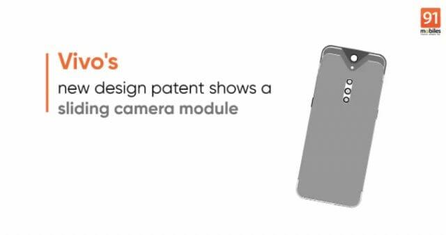 Vivo patents sliding camera design - could it be future NEX?
