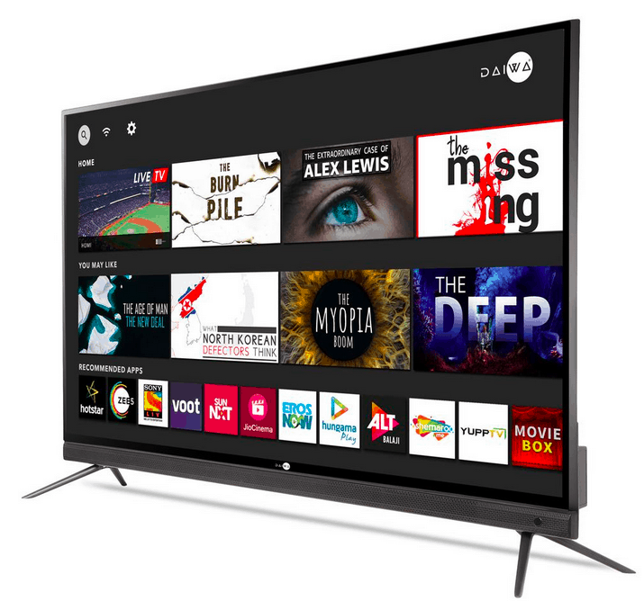 Daiwa announces affordable Smart TVs with Android 9.0, 2GB RAM