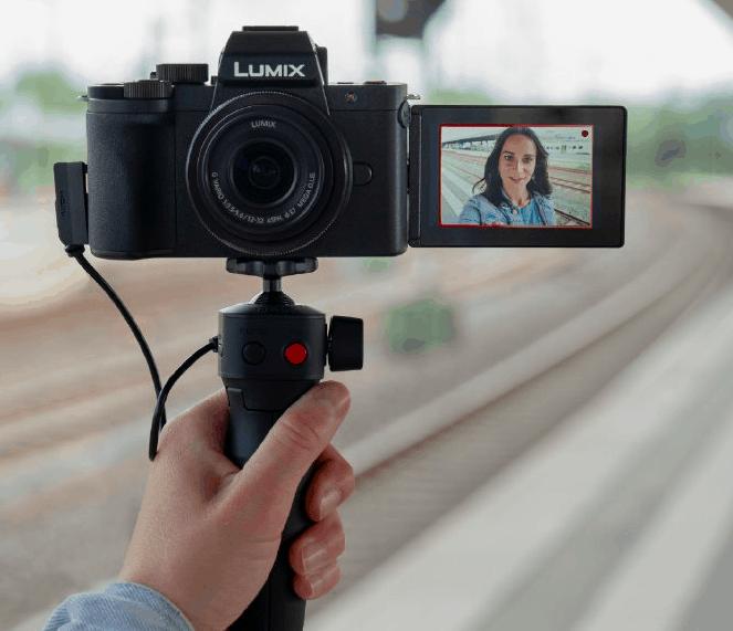 Panasonic LUMIX G100 mirrorless camera