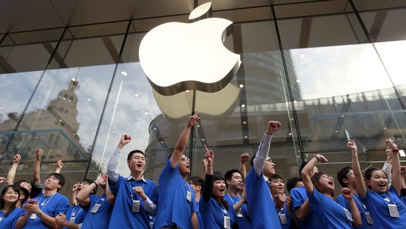 Apple ceases the updates for thousands of Apps in China's app store