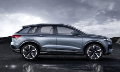 Audi unveils the Q4 sportsback e-tron : ~$45,000 worth sleek electric SUV.
